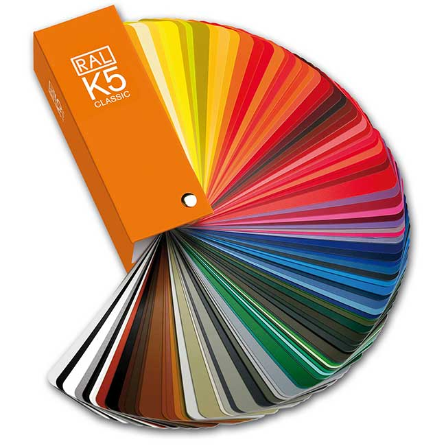 SOLLYS LAND - RAL skala raspoloživih boja