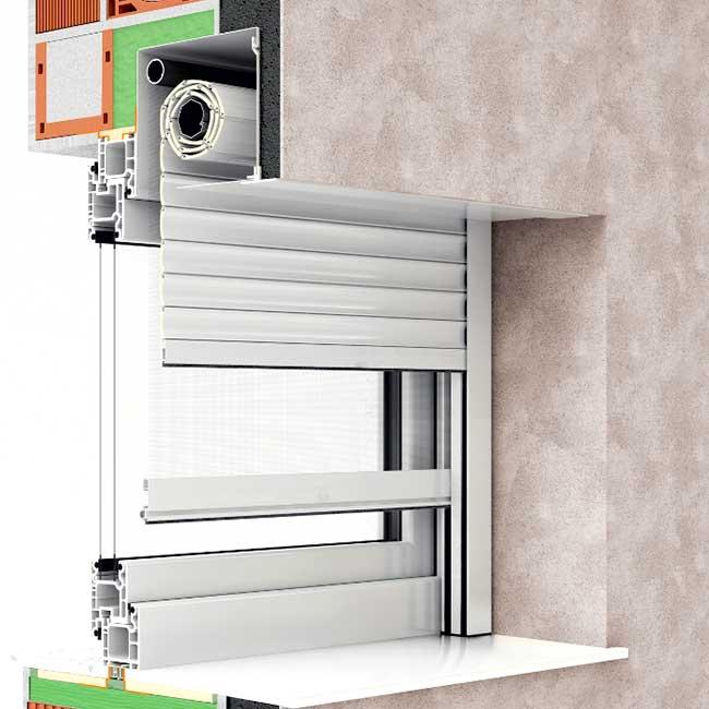 SOLLYS LAND - Roletne sa pod-fasadnom kutijom